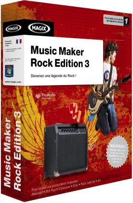 MAGIX Music Maker Rock Edition 3