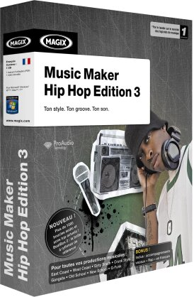MAGIX Music Maker Hip Hop Edition 3