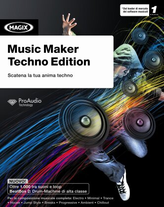MAGIX Music Maker Tehno Edition