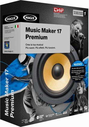 MAGIX Music Maker 17 Premium