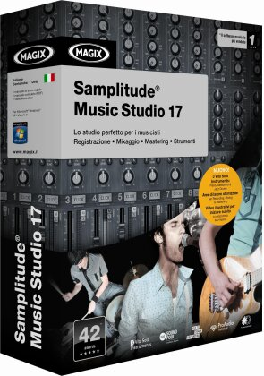 MAGIX Samplitude Music Studio 17