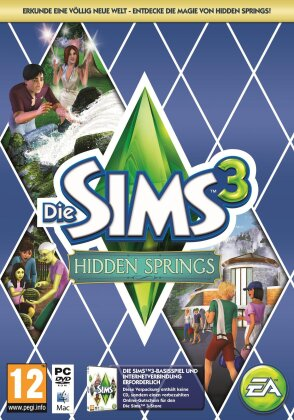 Die Sims 3 Hidden Springs (Code in a Box)