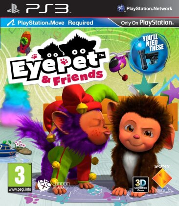 Eye Pet & Friends (Move only)