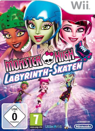 Monster High Labyrinth-Skaten
