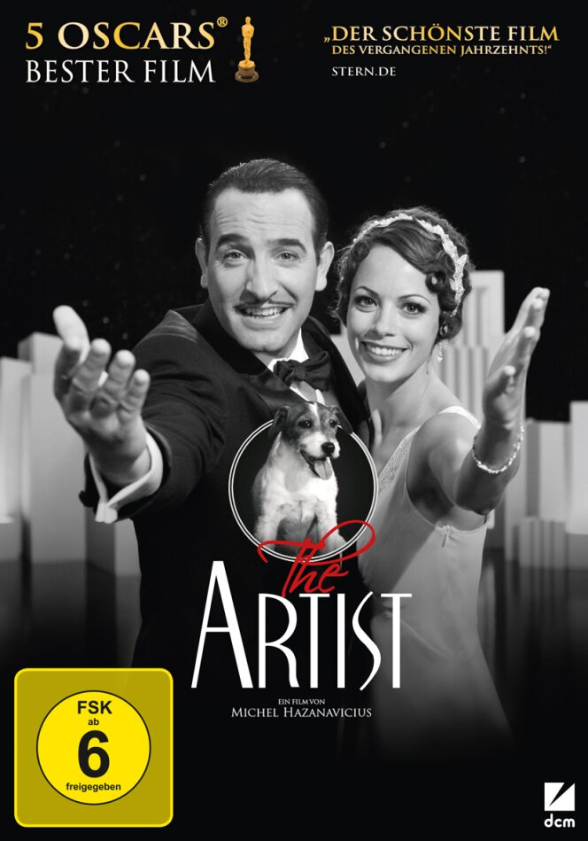 The Artist - (Limited Award Edition mit Soundtrack) (2011) (s/w)