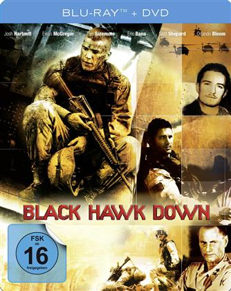 Black Hawk Down (2001) (Limited Edition, Steelbook, Blu-ray + DVD)