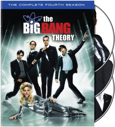 The Big Bang Theory - Season 4 (4 DVDs)