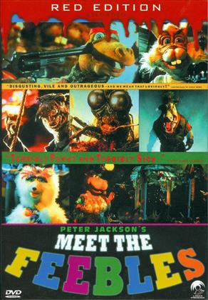 Meet the Feebles (1989) (Red Edition Reloaded, Kleine Hartbox, Uncut)