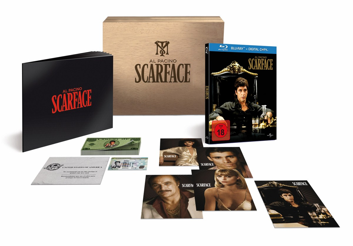 Scarface (1983) - (Limited Uncut Edition in Box)