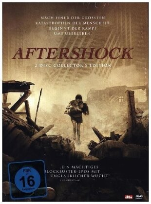 Aftershock (2010) (Limited Special Edition, Mediabook, 2 DVDs)