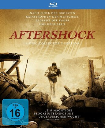 Aftershock (2010) (Limited Special Edition, Mediabook, 2 Blu-rays)