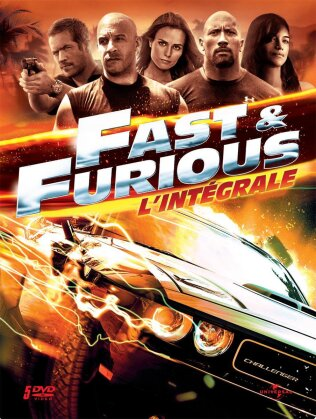 Fast & Furious 1 - 5 (Steelbook, 5 DVDs)