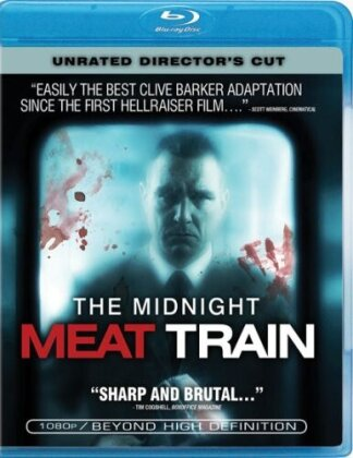 The Midnight Meat Train (2008) (Director's Cut, Unrated)