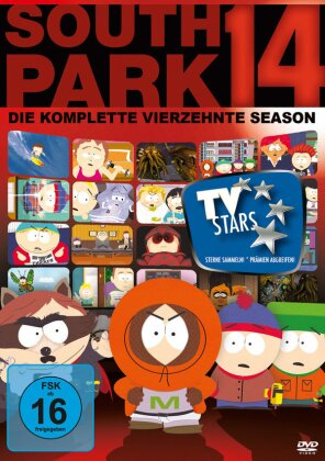 South Park - Staffel 14 (Repack 3 DVDs)