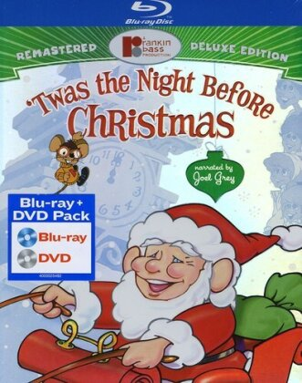 'Twas the Night Before Christmas (Deluxe Edition, Blu-ray + DVD + Digital Copy)