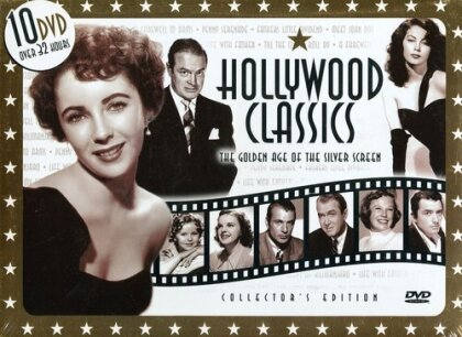 Hollywood Classics - The Golden Age of the Silver Screen (Deluxe Edition, 10 DVDs)
