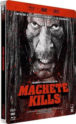 Machete Kills (2013) (Steelbook, Blu-ray + DVD)