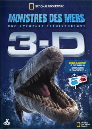 Monstres des mers - 3-D (National Geographic, 2 DVDs)