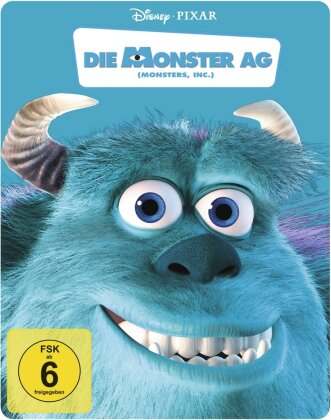 Die Monster AG (2001) (Steelbook, 2 Blu-rays)
