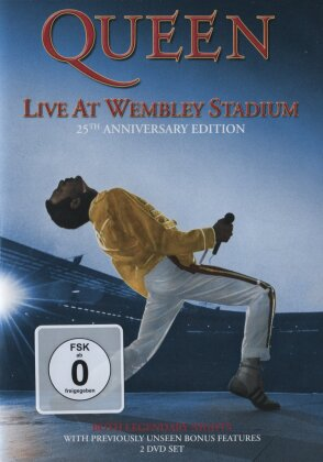 Queen - Live at Wembley Stadium (25th Anniversary Edition, 2 DVDs)