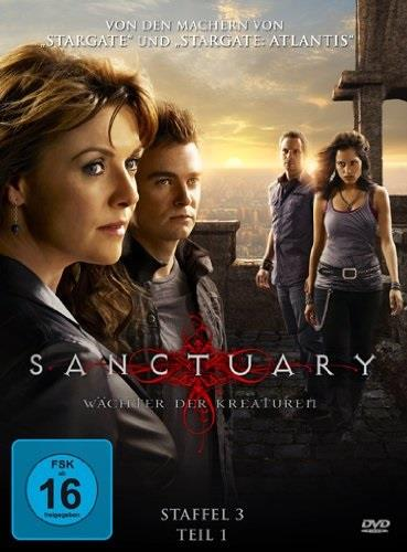 Sanctuary - Wächter der Kreaturen - Staffel 3.1 (3 DVDs)
