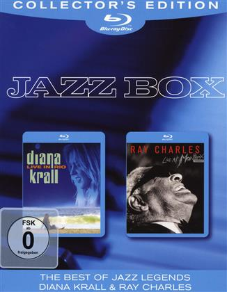 Diana Krall & Ray Charles - Jazz Box (Collector's Edition, 2 Blu-rays)