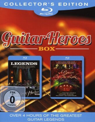 Various Artists - Guitar Heroes Box (Collector's Edition, 2 Blu-rays)