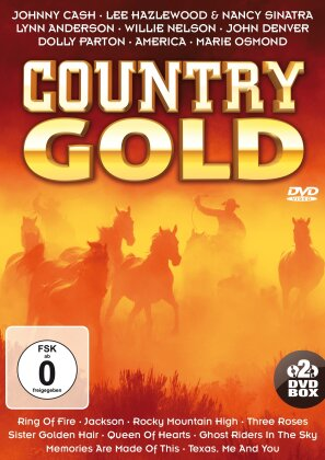 Various Artists - Country Gold (2 DVDs)