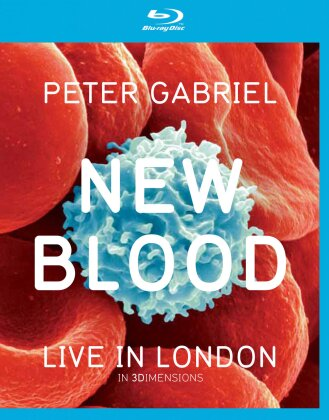 Peter Gabriel - New Blood - Live in London (Blu-ray 3D (+2D) + DVD)