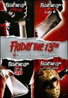 Friday the 13th - 4-Movie Collection (Deluxe Edition, 4 DVDs)