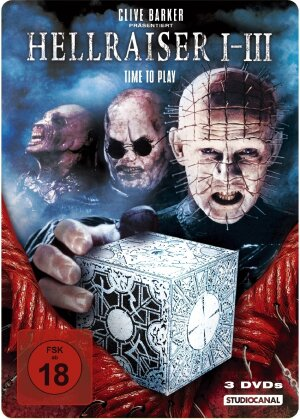 Hellraiser 1-3 (Steelbook, 3 DVDs)