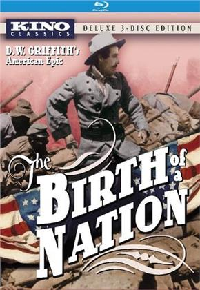 The Birth of a Nation (1915) (Deluxe Edition, Blu-ray + DVD)