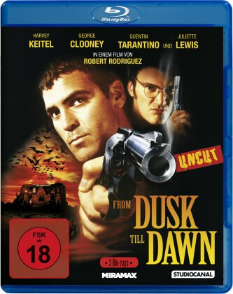 From dusk till dawn (1996) (Special Edition, Uncut, 2 Blu-rays)