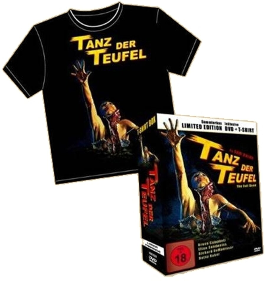 Tanz der Teufel 1 - (Limited Edition DVD + T-Shirt XL) (1981)
