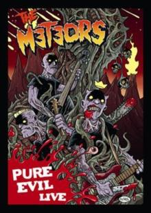 Meteors - Pure Evil - Live (Limited Edition, DVD + CD)