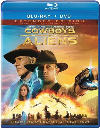 Cowboys & Aliens (2011) (Unrated, Blu-ray + DVD)
