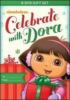 Dora the Explorer - Celebrate with Dora (3 DVDs)