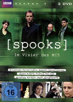 Spooks - Im Visier des MI5 - Season 4 (3 DVDs)