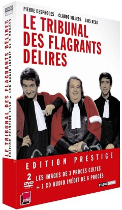 Le Tribunal des flagrants délires (1981) (Deluxe Edition, 2 DVDs + CD)
