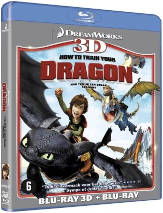 Dragons (2010) (Blu-ray 3D + Blu-ray)