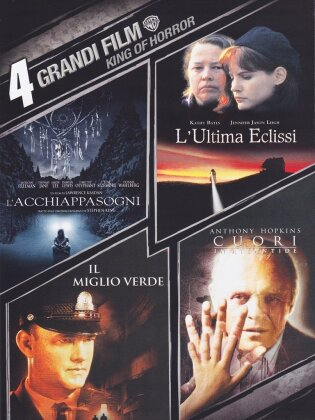 4 Grandi Film - King of Horror - L'Acchiappasogni / Ultima eclissi / Miglio Verde / Cuori in Atlantide (4 DVDs)
