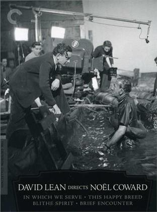 David Lean Directs Noel Coward (Criterion Collection, 4 DVD)