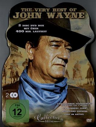 The Very Best of John Wayne (Collector's Edition, Steelbox, 2 DVDs)