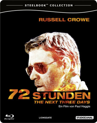 72 Stunden - The Next Three Days (2010) (Steelbook)