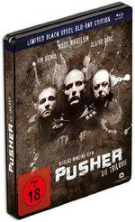 Pusher Trilogie (Limited Black Steel Edition, Steelbook, 3 Blu-rays)