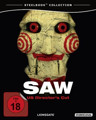 Saw (2004) (Steelbook, Unrated)