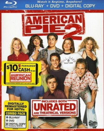 American Pie 2 (2001) (Unrated, Blu-ray + DVD)