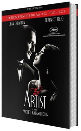 The Artist (2011) (Deluxe Edition, Blu-ray + DVD + CD)