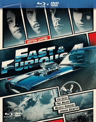 Fast & Furious 4 - (Comic-Cover) (2009)