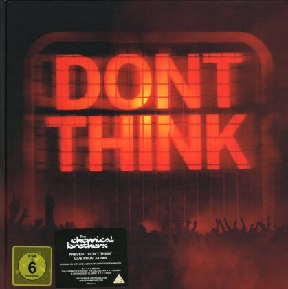 Chemical Brothers - Don't think (DVD + CD + Libro)
